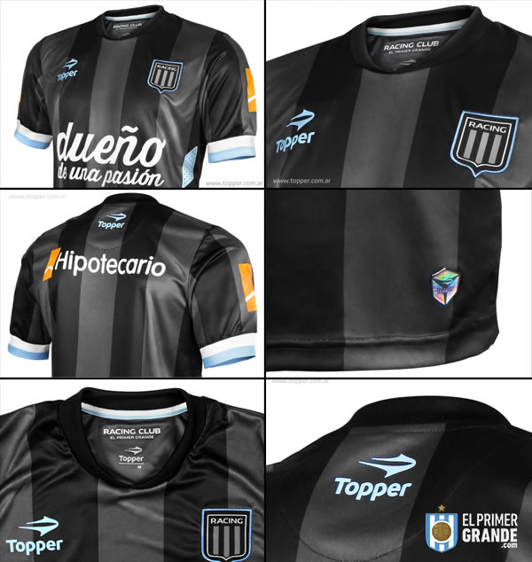 camiseta alternativa racing club 2014